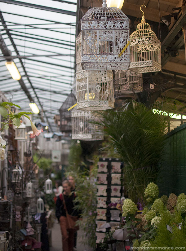 Paris flower markets - birdcages