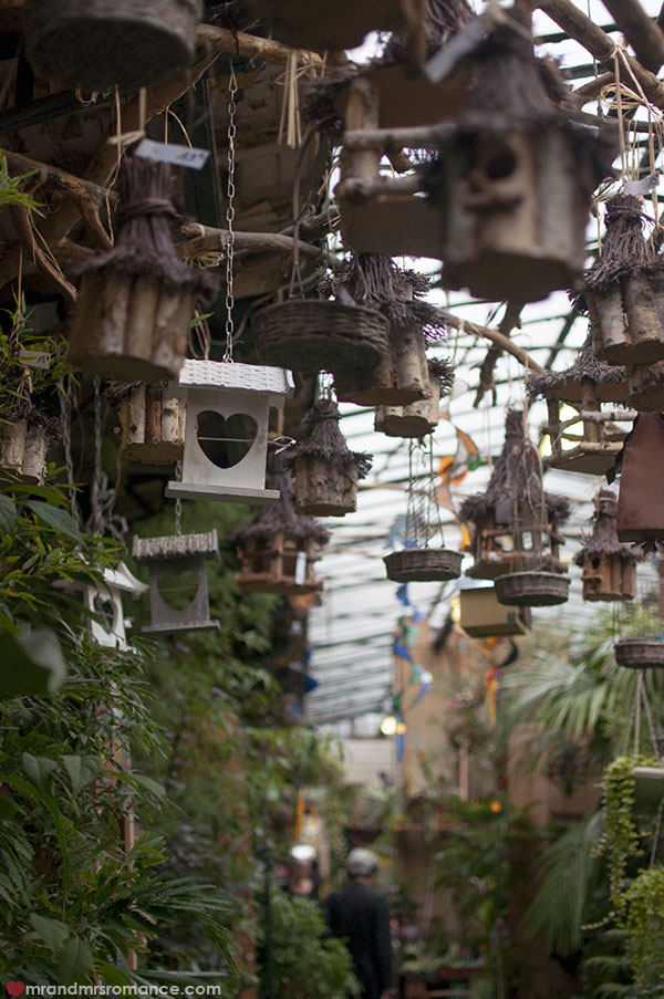 Paris flower markets - birdhouses