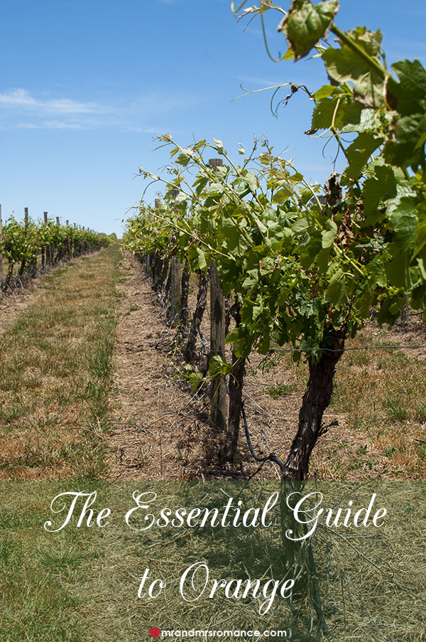The Essential Guide to Orange NSW by Mr and Mrs Romance