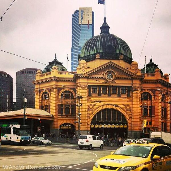 Mr & Mrs Romance - Insta Diary - 11 Flinders Street Station, Melb