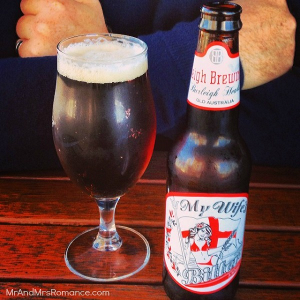 Mr & Mrs Romance - Insta Diary - 9 Burleigh Brewing beer