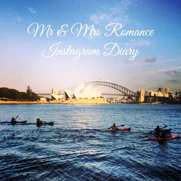 Mr & Mrs Romance - Insta diary - 1 morning kayakers