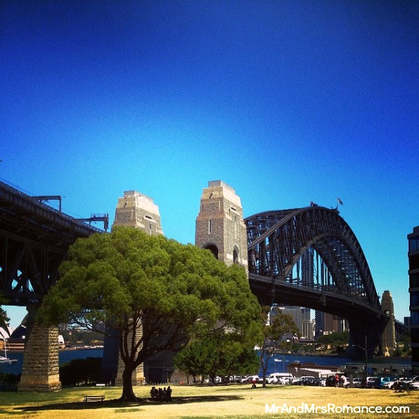Mr & Mrs Romance - Insta diary - 19 lovely day out at Milsons Point Sydney