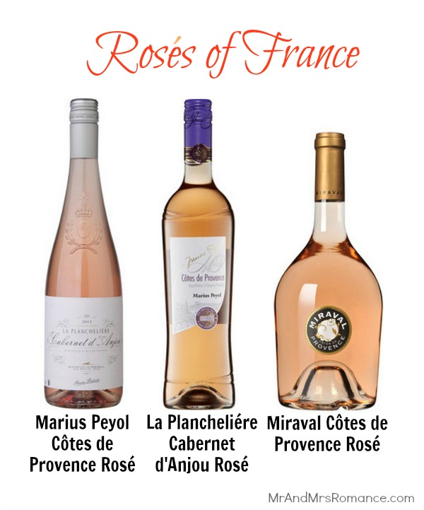 Mr & Mrs Romance - Wine of the month - roses