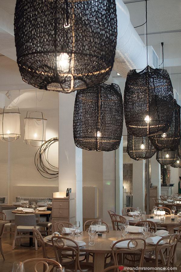 Mr and Mrs Romance - Alpha Restaurant interiors