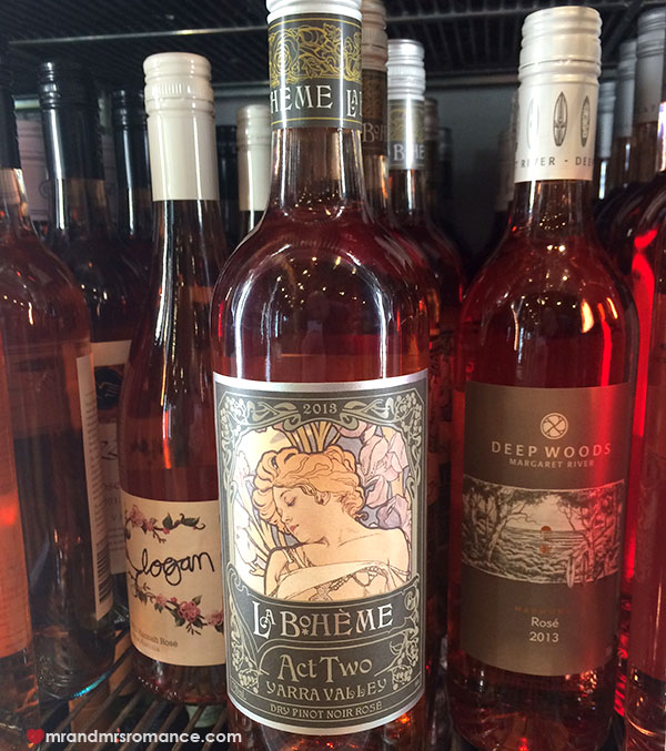 Mr and Mrs Romance - Australian Rose wines