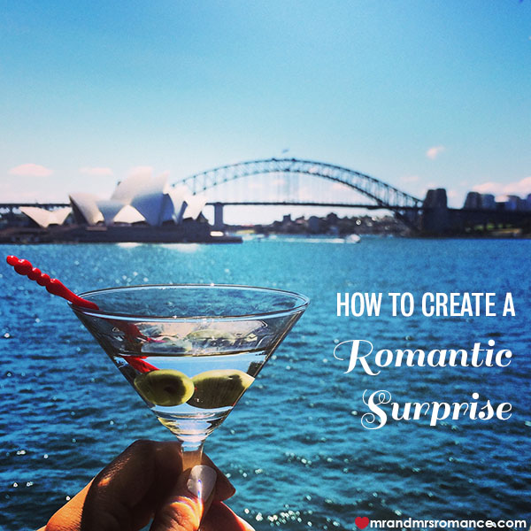 Mr and Mrs Romance - How to create a romantic surprise for your partner