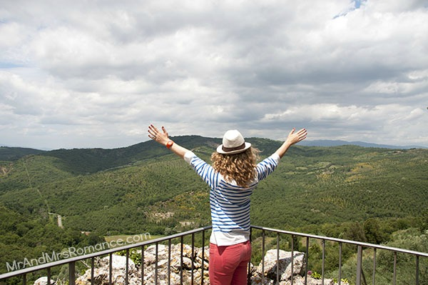 Mr and Mrs Romance - Siena - 2 views into Tuscany