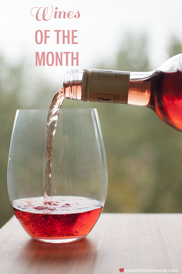 Mr and Mrs Romance - wines of the month - Rose