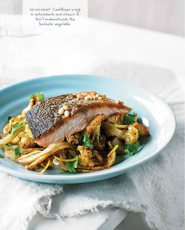 Clean Living Cookbook - oven baked salmon