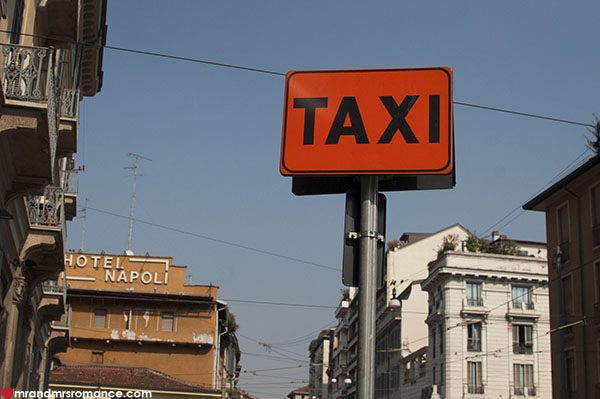 How to take a taxi in Italy without being ripped off