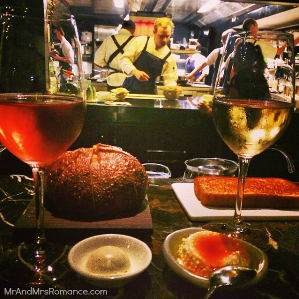Mr & Mrs Romance - Insta Diary - 11 dinner at Rockpool