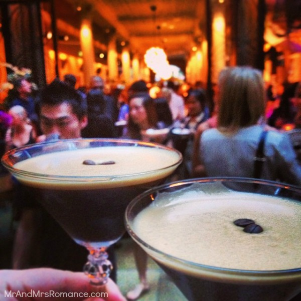 Mr & Mrs Romance - Insta Diary - 3 espresso martinis at Just Desserts