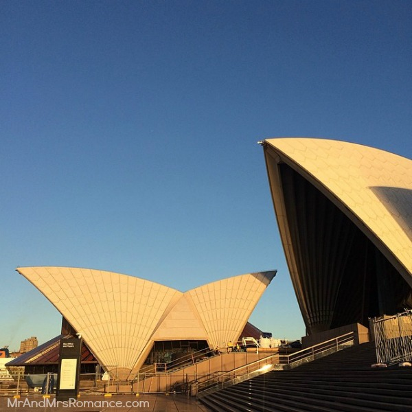 Mr & Mrs Romance - Insta Diary - 3aHR2 Mrs R at the Opera House this morning