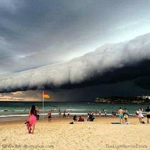 Mr & Mrs Romance - Insta Diary - 5 crazy storm over Sydney