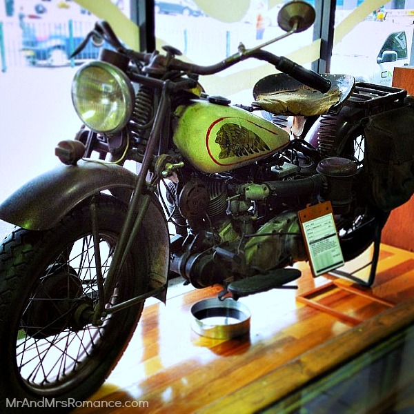 Mr & Mrs Romance - Insta Diary - 7 classic bike at Deus Cafe