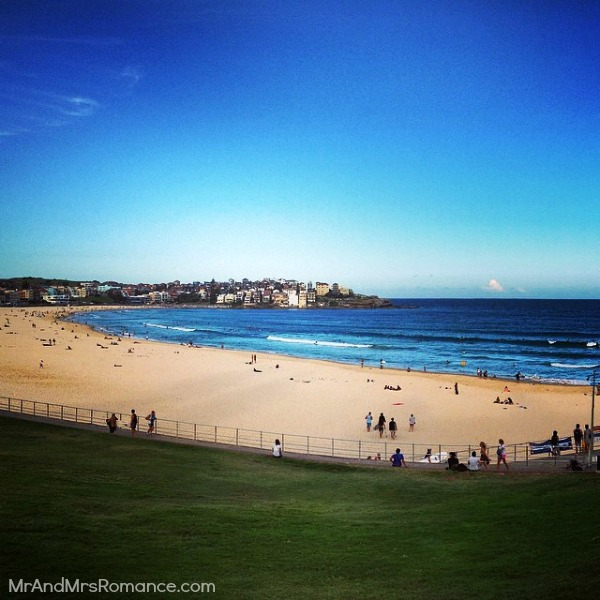 Mr & Mrs Romance - Insta Diary - 9 Bondi Beach is quiet this evening