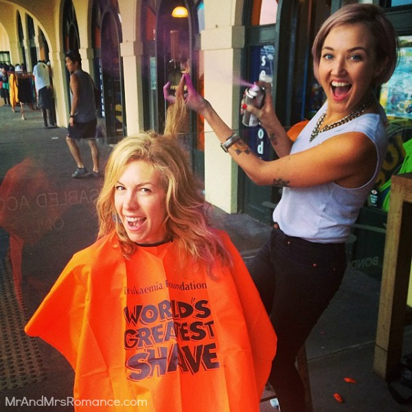 Mr & Mrs Romance - Insta Diary - 9aHR3 World's Greatest Shave at Bondi