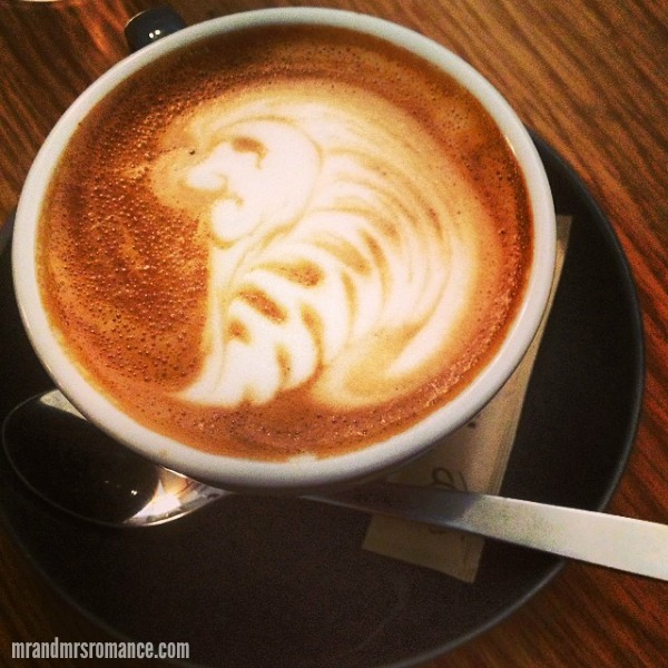 Mr & Mrs Romance - Intsa Diary - 11 coffee at Three Williams, Alexandria