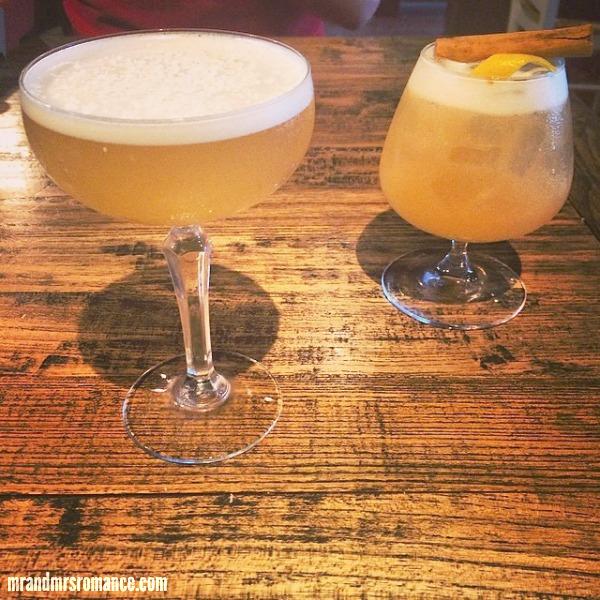 Mr & Mrs Romance - Intsa Diary - 16 The Cottage cocktails
