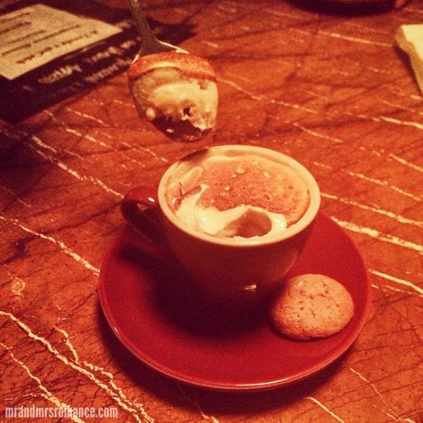 Mr & Mrs Romance - Intsa Diary - 5 dessert at A Tavola Darlinghurst