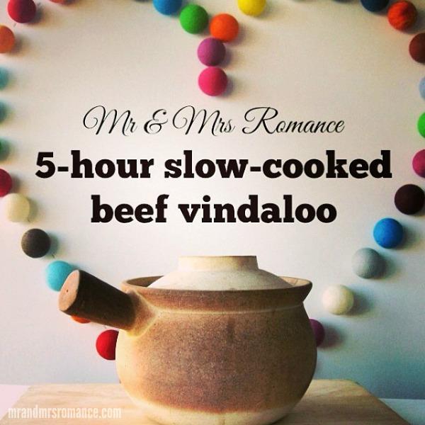 Mr & Mrs Romance - Intsa Diary - 6 Vindaloo recipe