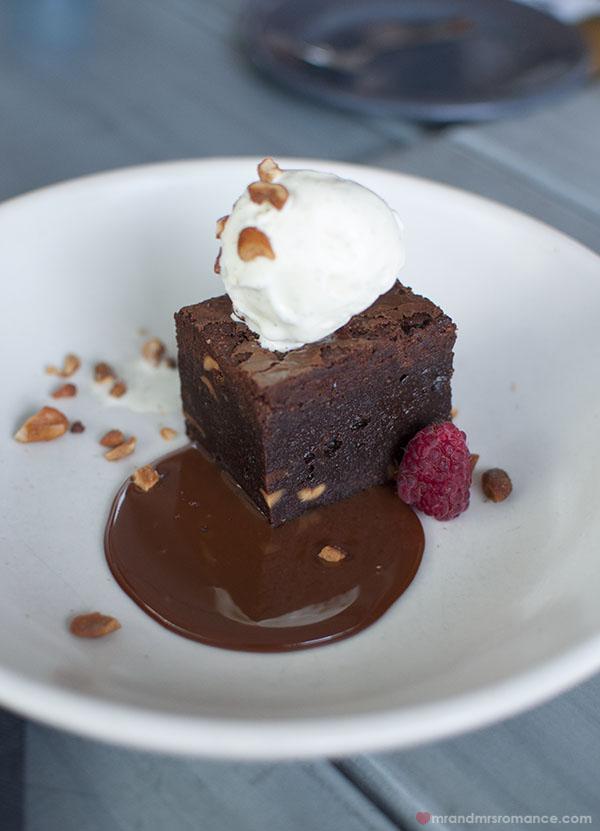 Mr and Mrs Romance - Choc brownie desserts at Mr Moustache Bondi Beach