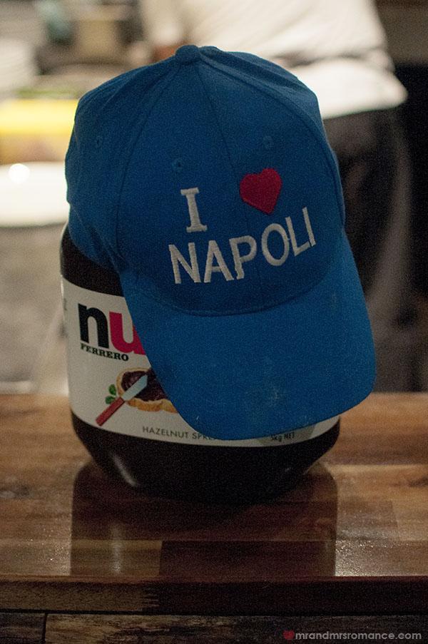 Mr and Mrs Romance - Naples in Neutral Bay at Spakka Napoli Sydney