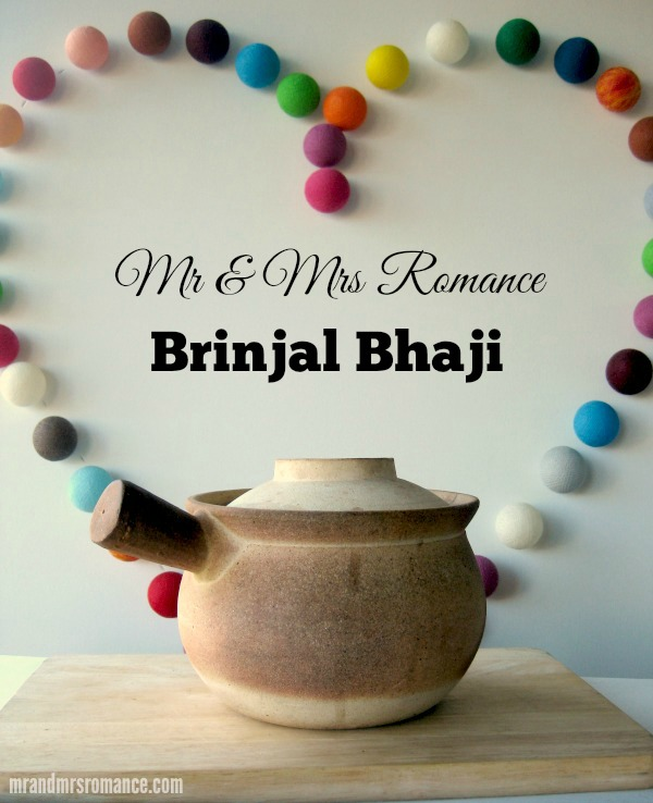 Mr & Mrs Romance - Curry Series - Brinjal Bhaji title 1