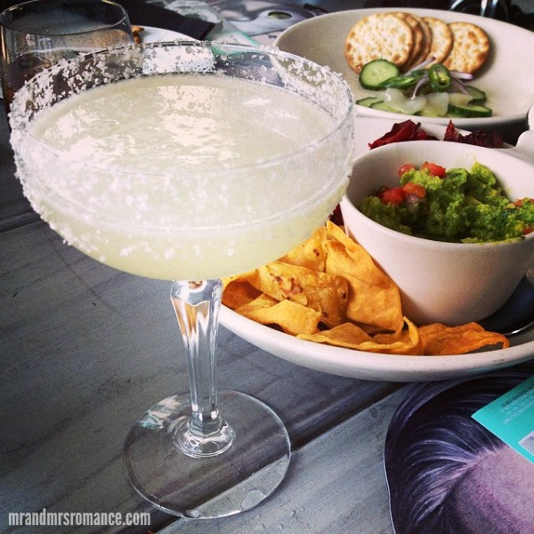 Mr & Mrs Romance - Insta Diary - 2 mezcal margarita at Mr Moustache