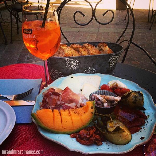 Mr & Mrs Romance - Insta Diary - 3 aperitivo hour