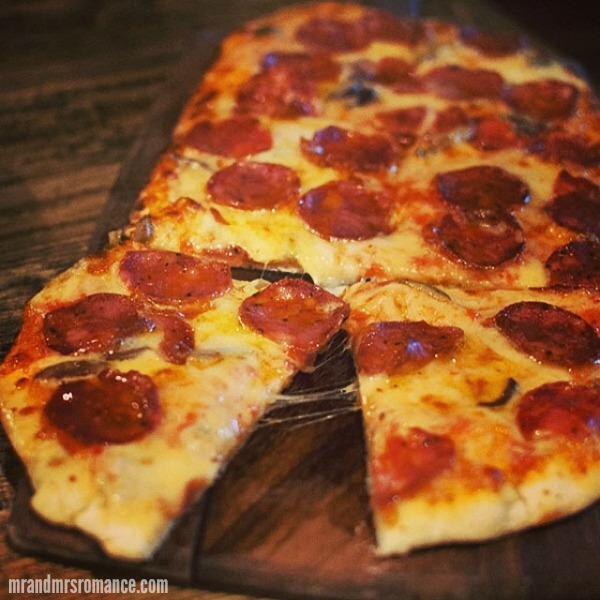 Mr & Mrs Romance - Insta Diary - 4 pizza at The Cottage