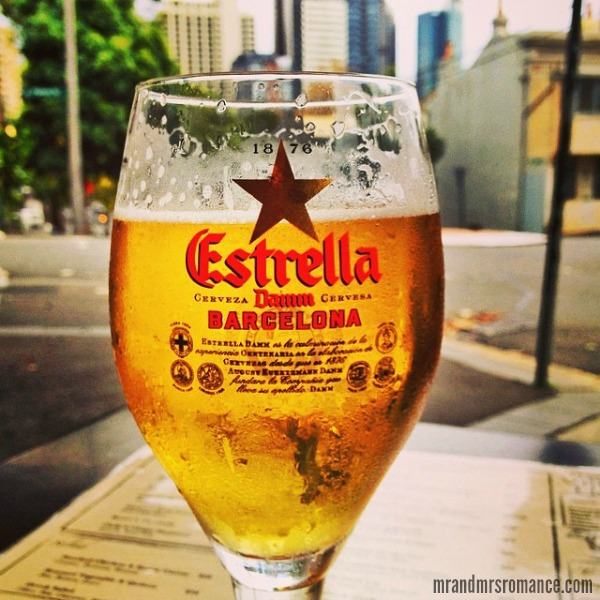 Mr & Mrs Romance - Insta Diary - 7AB1 beer o' clock