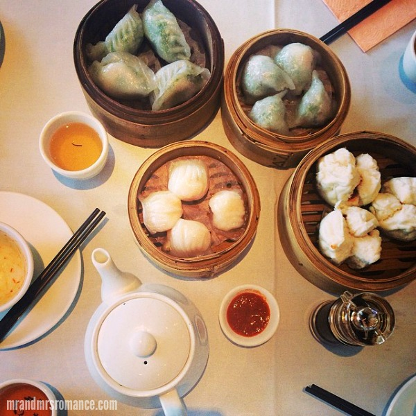 Mr & Mrs Romance - Intsa Diary - 13 Yum Cha Sunday!