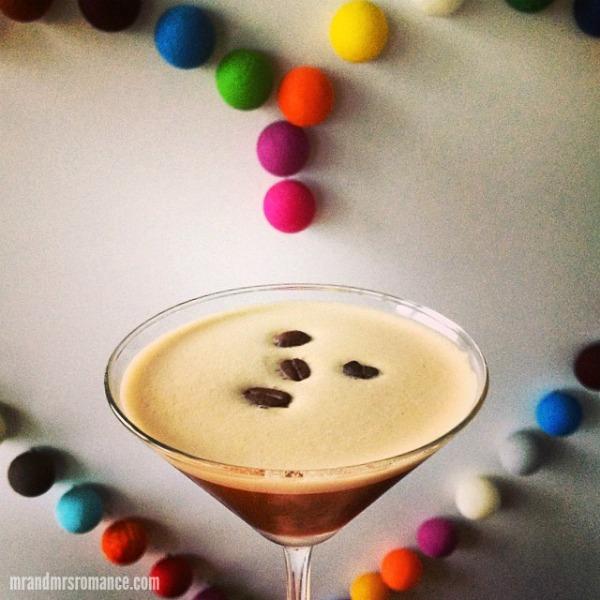 Mr & Mrs Romance - Intsa Diary - 8 espresso martini