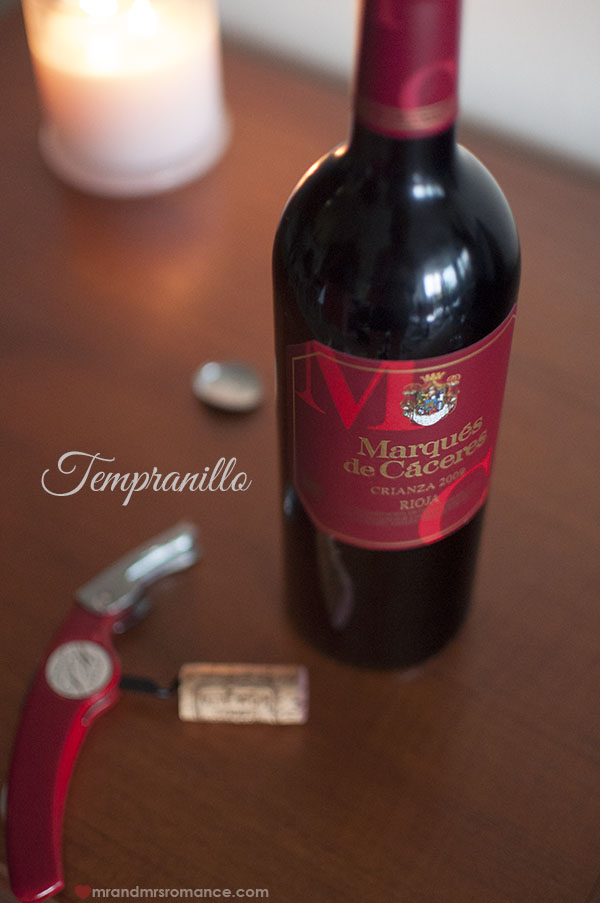 Mr and Mrs Romance - Tempranillo