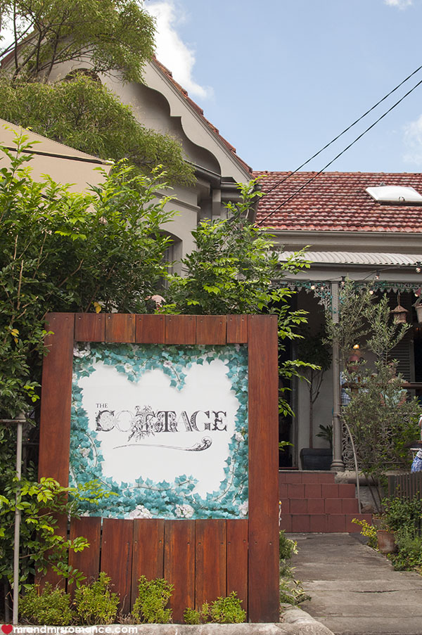 Mr and Mrs Romance - The Cottage Balmain review