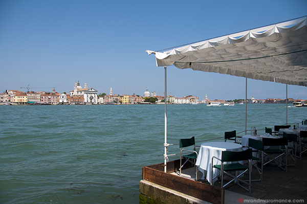 Views of Venice from Giudecca - Mr and Mrs Romance