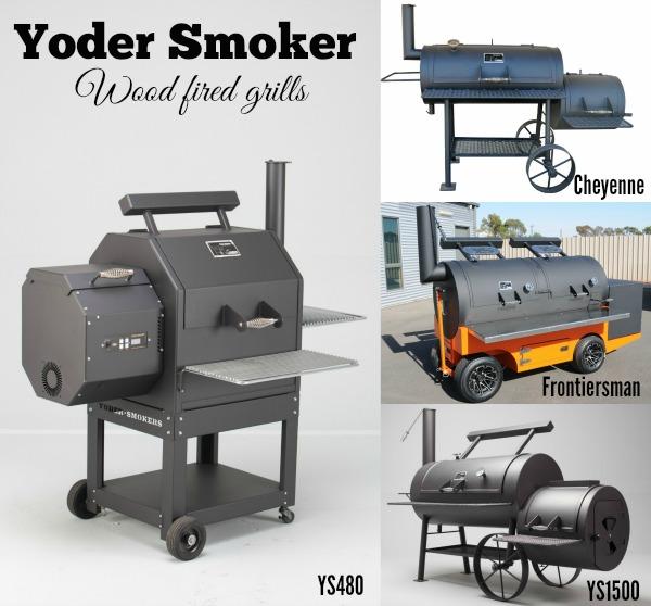 Yoder Smoker collage