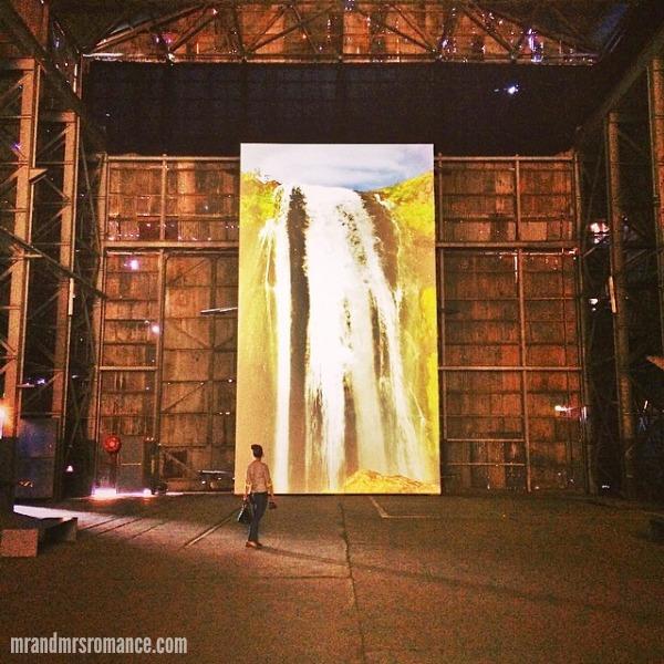 Mr & Mrs Romance - Insta Diary - 10 waterfall at Biennale