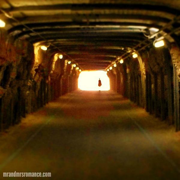 Mr & Mrs Romance - Insta Diary - 12 Tunnel No.1 at Cockatoo Isl, Biennale