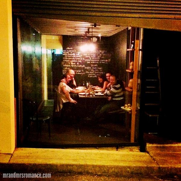 Mr & Mrs Romance - Insta Diary - 16 Dinner at Vini