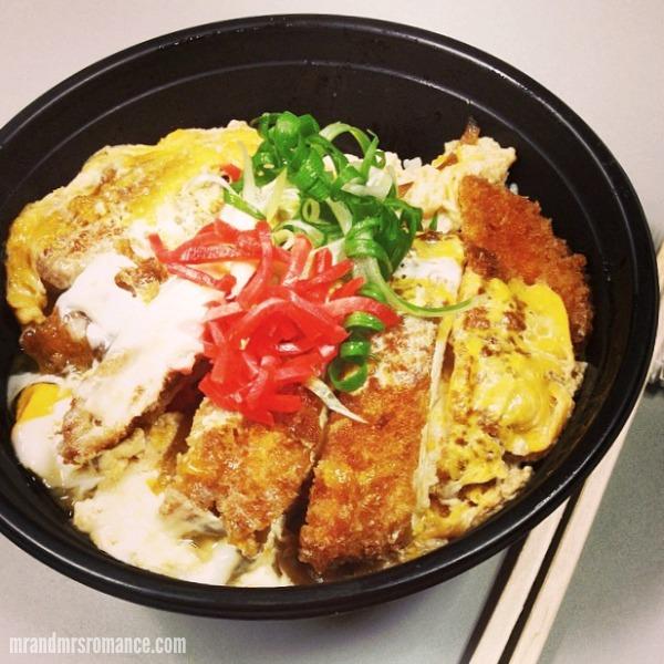 Mr & Mrs Romance - Insta Diary - 2 my chicken katsu lunch lookin purdy