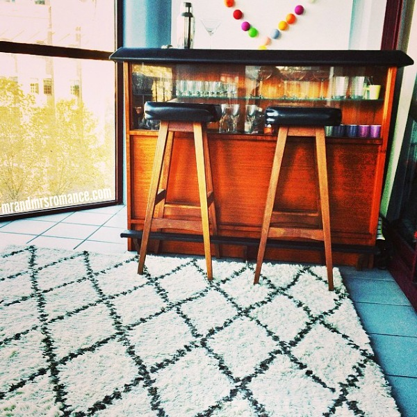 Mr & Mrs Romance - Insta Diary - 3 new rug and our sun room