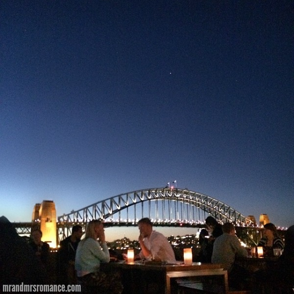 Mr & Mrs Romance - Insta Diary - 6 date night on the harbour