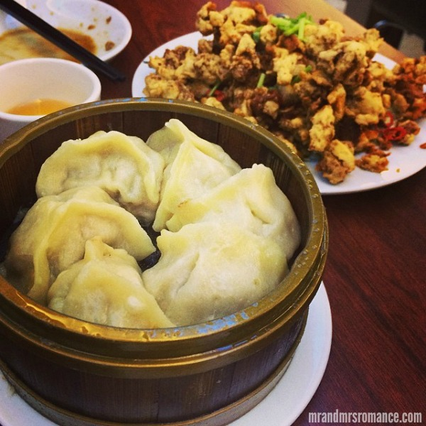 Mr & Mrs Romance - Insta Diary - 7 dumplings at end of date night