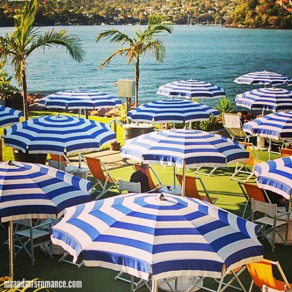 Mr & Mrs Romance - Insta diary - 10 The Island Bar, Cockatoo Island