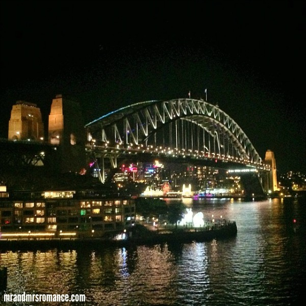 Mr & Mrs Romance - Insta diary - 3 Vivid Sydney '14