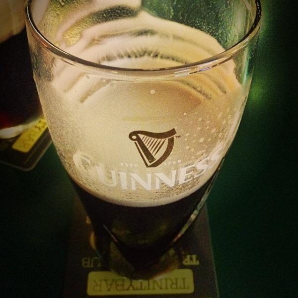 Mr & Mrs Romance - Insta diary - 6 Guinness o'clock
