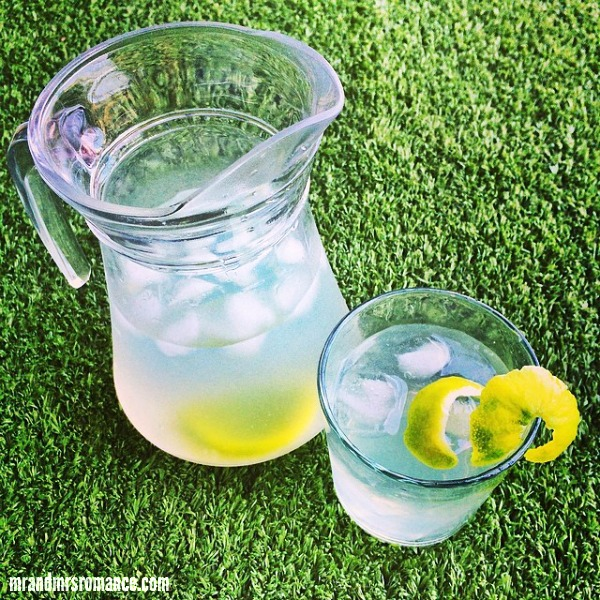 Mr & Mrs Romance - Insta diary - 9 lemon lime jug refresher